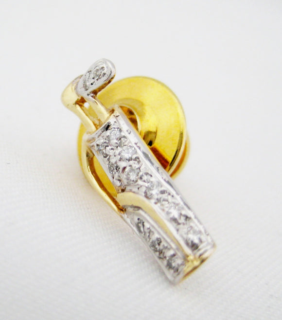 Golf Bag Tie Tack