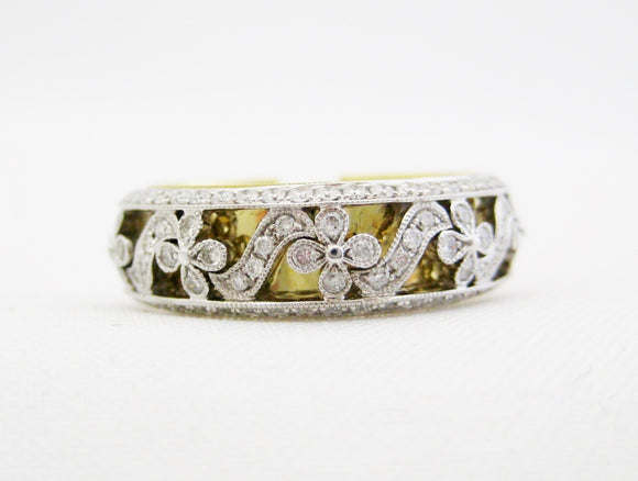 La Reina Floral Cut-Out Band