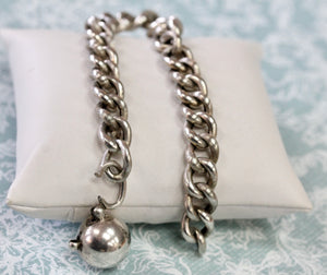 ANTIQUE ~ French Sterling Bracelet,