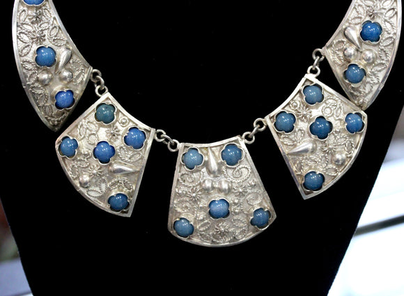 Custom Made ~ Egyptian Silver Necklace