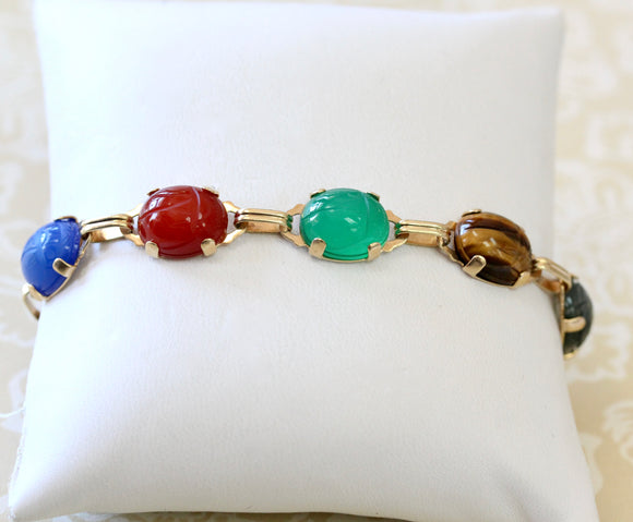 Colorful ~ Natural Stone Bracelet