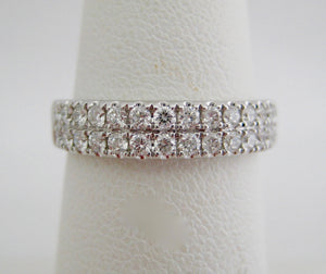 Double Row Diamond 1/2 Band