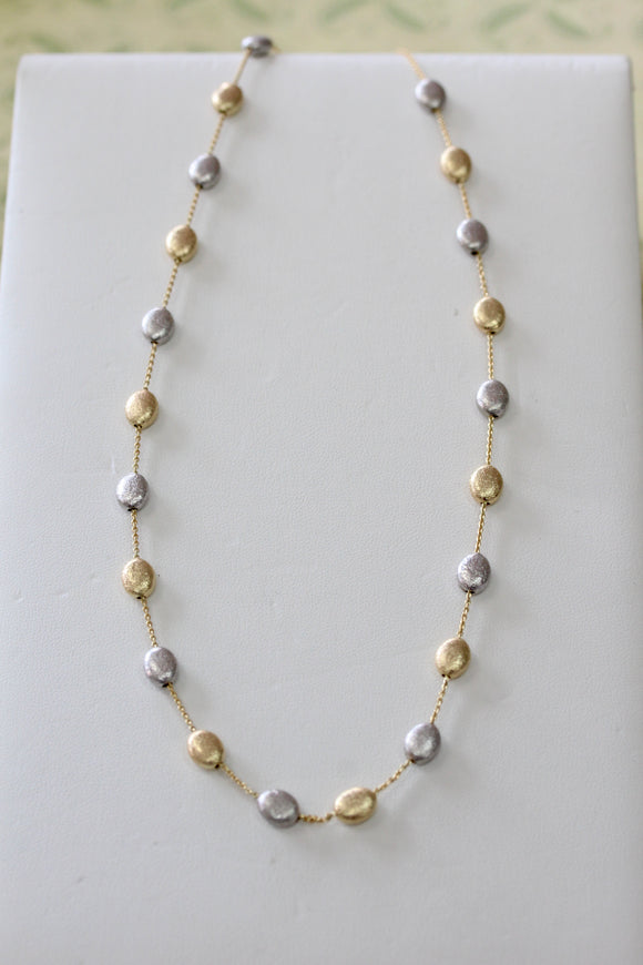 Chic ~ Two Tone Necklace