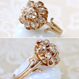 Antique ~ Diamond Ring, Circa 1885 ~ WOW