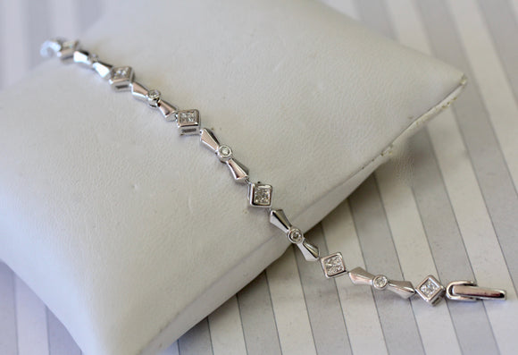 Stylish ~ Diamond Bracelet