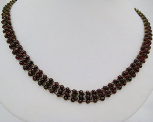Antique Garnet Necklace