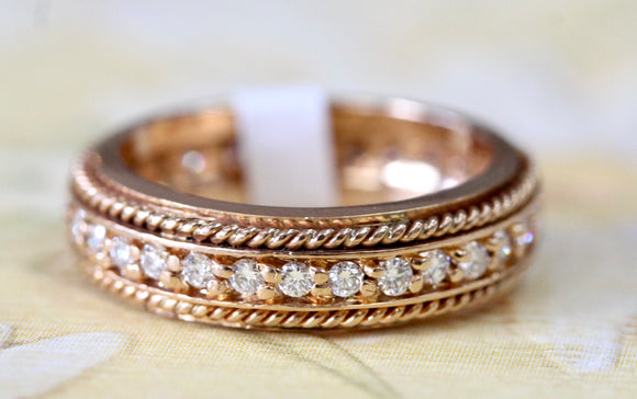 Detailed ~ Diamond Eternity Band