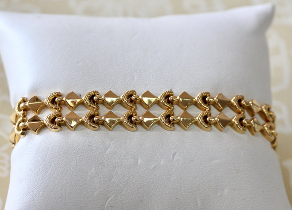 Decorative ~ Gold Bracelet, 18K