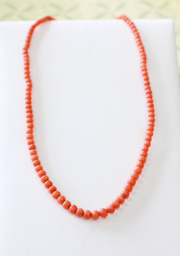 Colorful ~ Coral Necklace