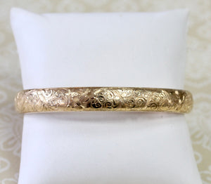 Detailed ~ ANTIQUE Bangle Bracelet