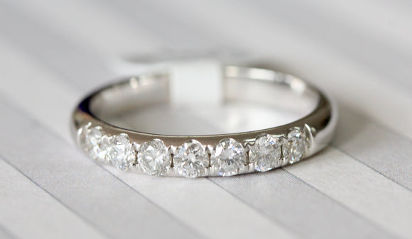 Classic ~ Diamond Wedding Band
