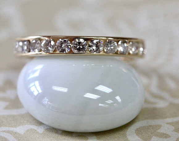 Diamond Eternity Band ~ Sparkling 1.50 Carats of Diamonds