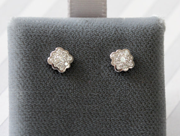 Diamond Stud Earrings - Precious