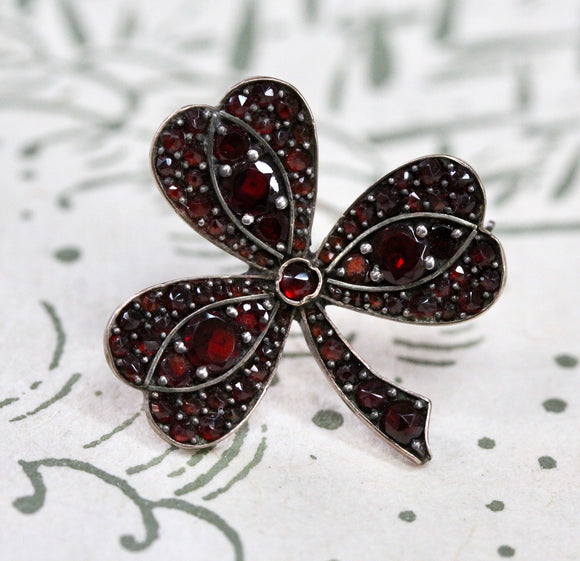 Antique ~ Garnet Pin