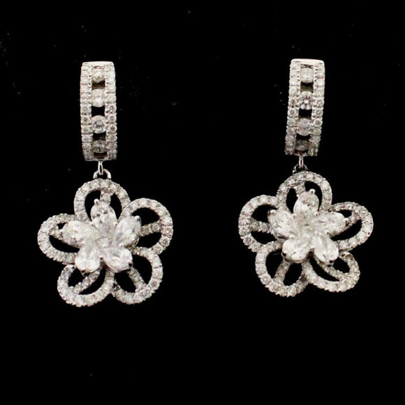 Drop style Diamond Earrings ~ Wow