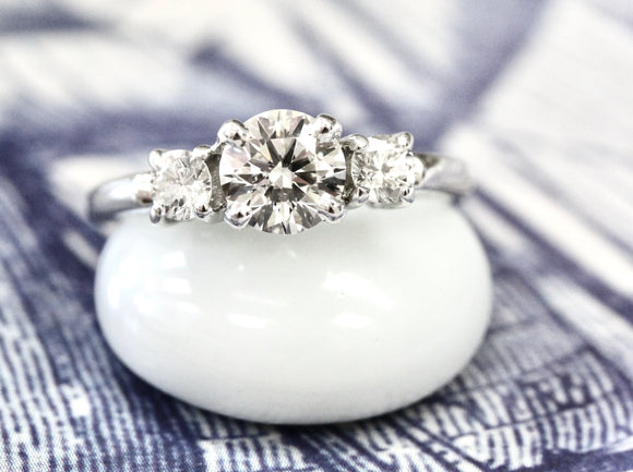 Splendid ~ Platinum Diamond Engagement Ring