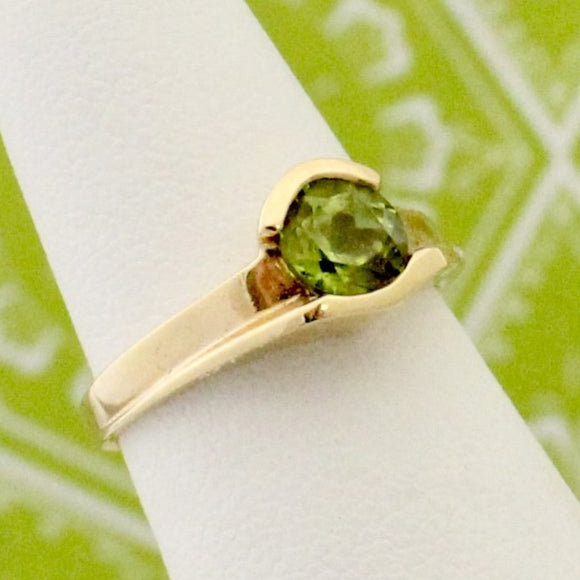 Pretty Peridot Ring