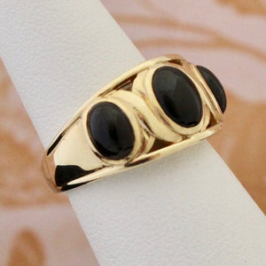 Elegant Black Onyx Ring