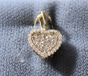 Lovable ~ Diamond Heart Shaped Pendant