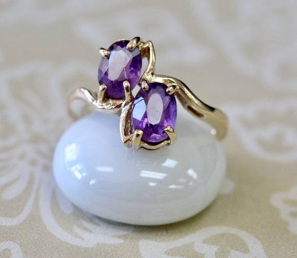 Whimsical ~ Amethyst Ring