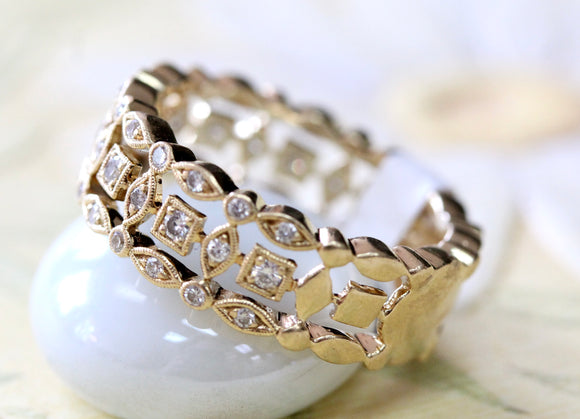 Detailed ~ Diamond Band
