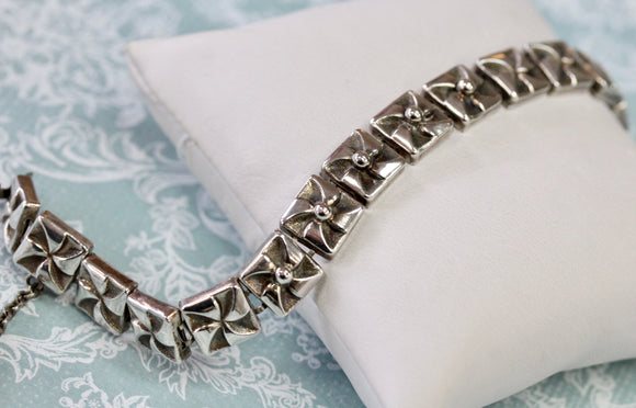 ANTIQUE ~ Sterling Silver Bracelet