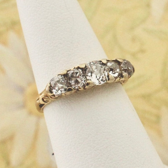 Antique Diamond Band