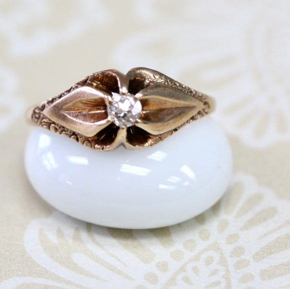 Charming ~ Victorian Diamond Ring