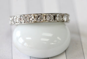 Sparkling ~ Eternity Diamond Band