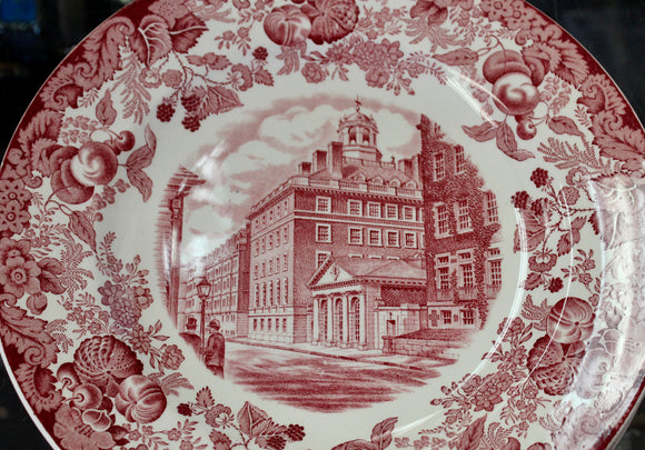 Collectible ~ Harvard University 1932, set of 11 plates
