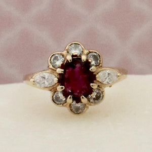 Dazzling Ruby & Diamond Ring