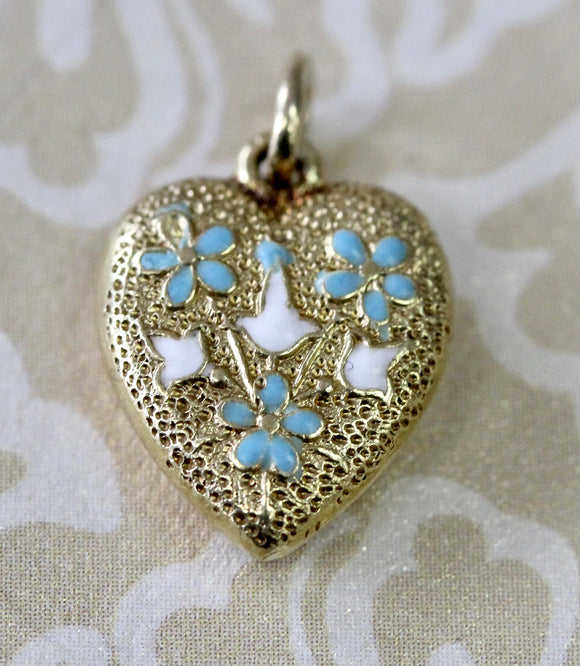 ADORABLE ~ Antique Heart Pendant