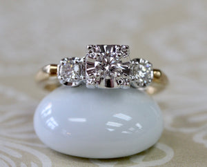 Glistening ~ Diamond Engagement Ring