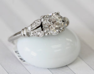 Vintage ~ Diamond Engagement Ring