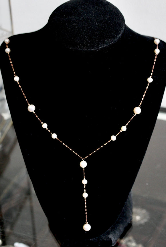 Flirty ~ Fresh Water Pearl Necklace
