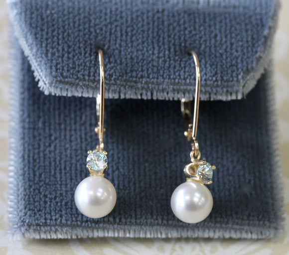 Pretty ~ Fresh Water Pearl Earrings