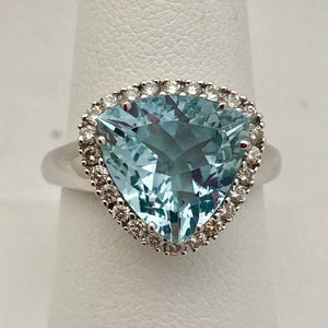 Sonia B Aquamarine Ring