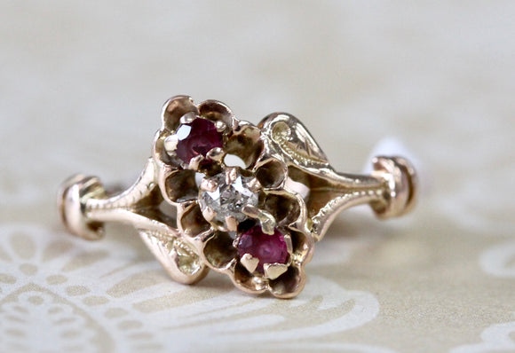 Victorian Ruby & Diamond Ring