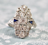 Impressive ~ Vintage Diamond Ring
