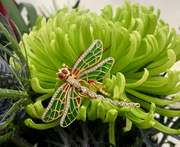 Amazing ~ Dragonfly Pin / Pendant