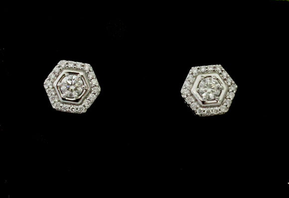 Timeless Diamond Stud Earrings