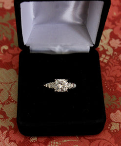 1.38 Carat Engagement Ring