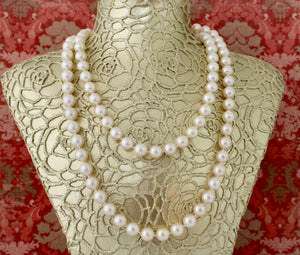 Timeless ~ Cultured Pearls Necklace, 18""