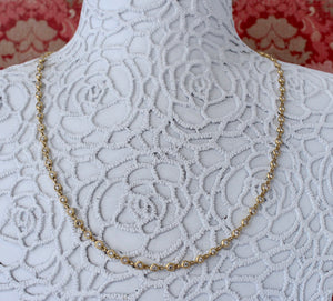 EXCEPTIONAL  ~ Bezel Set Diamond Necklace