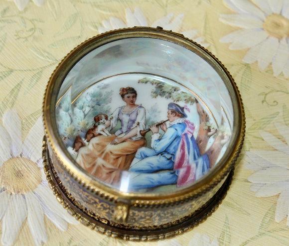Antique ~ Keepsake Box from Czech, Slovakia