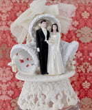 Vintage ~ Wedding Cake Topper