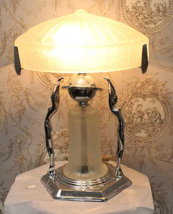 Gorgeous ~ French Inspired Art Deco Table Lamp