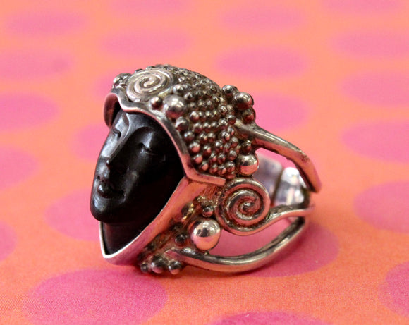 Interesting & Fun ~ Sajen Sterling Silver ring