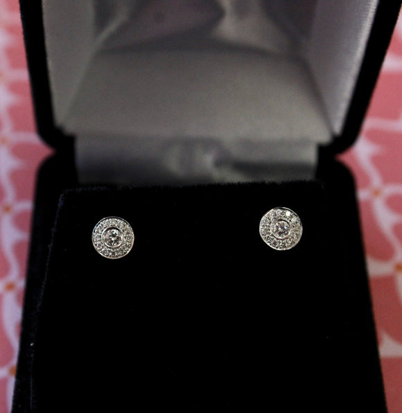Adorable ~ Diamond Stud Earrings
