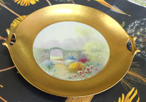 Gorgeous ~ Antique Picard Serving Bowl, Signed by artist
